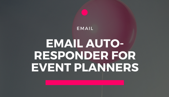 email auto-responder events