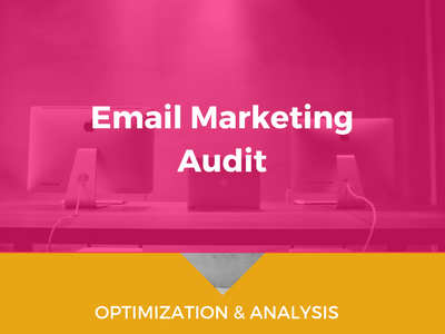 Get an instant audit on your current email marketing software. jennymiranda.